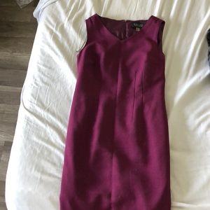 Black label purple dress